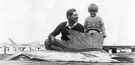 Hemingway with Sailfish