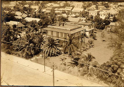 Ernest Hemingway's house in Key West, circa 1934
