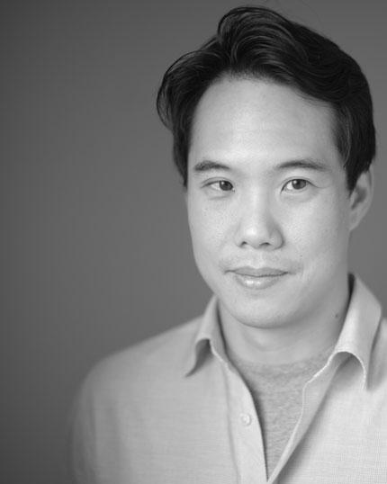 Charles Yu. Photo by Curt Richter.