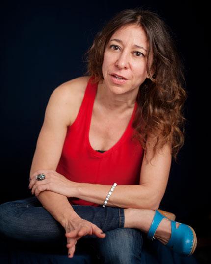 Janna Levin. Photo by Curt Richter.