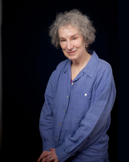 Margaret Atwood. Photo by Curt Richter.