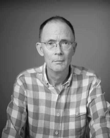 William Gibson. Photo by Curt Richter.