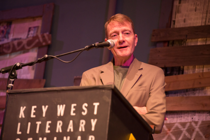 Lee Child. Photo by Nick Doll.