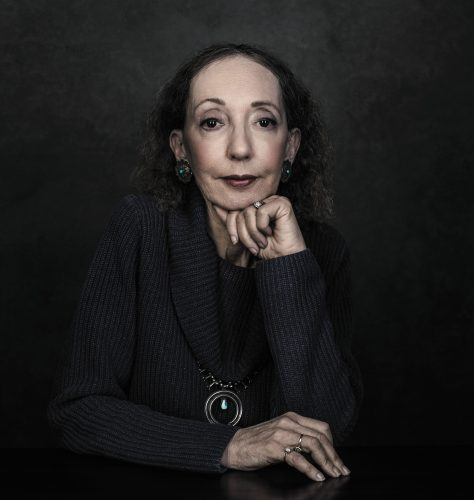 Joyce Carol Oates, photo by Dustin Cohen