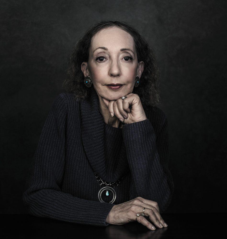 Joyce Carol Oates, photo by Dustin Cohen