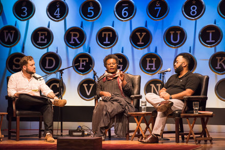 P. Scott Cunningham, Claudia Rankine, and Kevin Young