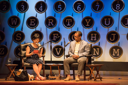 Yiyun Li and Victor LaValle. Photo by Nick Doll.