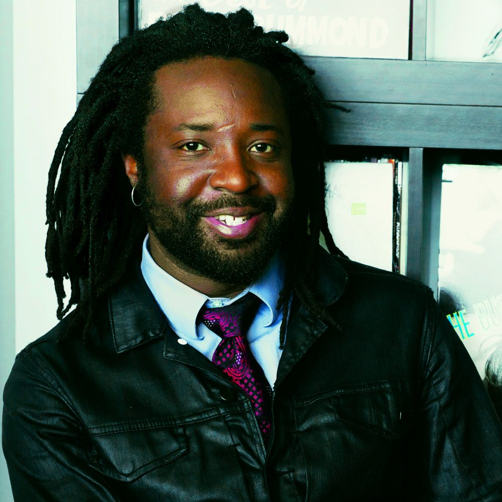 Marlon James, photo by Jeffrey Skemp