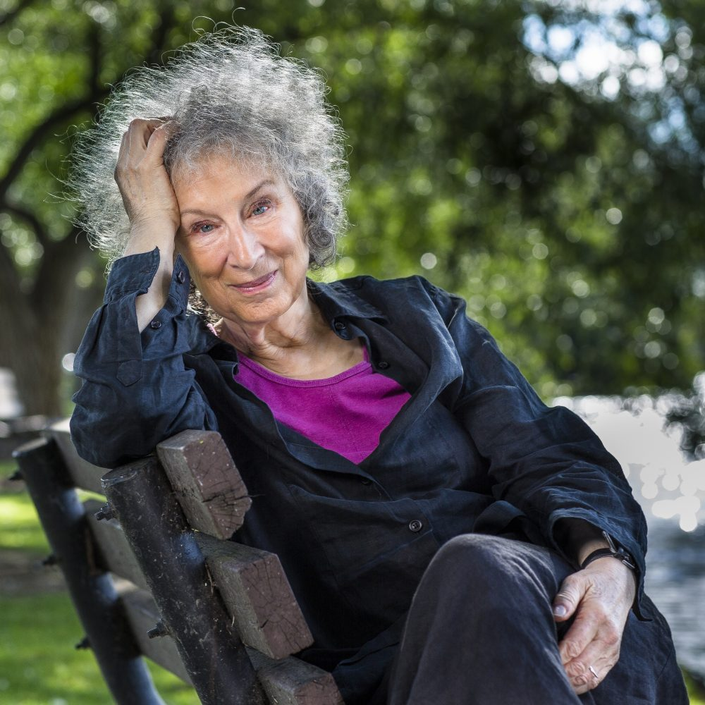 Margaret Atwood, photo by Liam Sharp