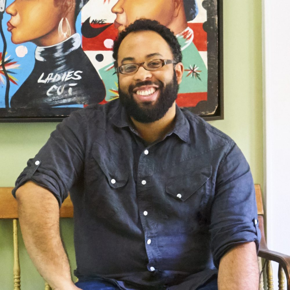 Kevin Young, photo by Melanie Dunea
